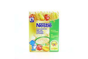 Каша Nestle дитяча молочна овес,рис,ябл.,груша 200г х6