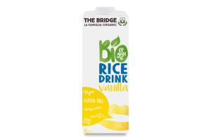 Напиток рисовый органический Rice Drink Vanilla The Bridge т/п 1л