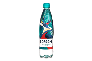 Вода мінеральна сильногазована Borjomi п/пл 0.5л