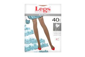 Legs колготки жіночі 261 BIKINI 40 den, naturale 4