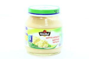 Пюре для детей от 4мес Цветная капуста Hame с/б 125г