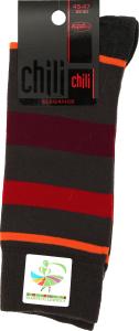 Носки мужские Chili Elegance №163 29-30 полоска