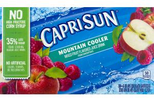 Capri Sun Juice Drink Mountain Cooler - 10 CT