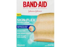 Band-Aid Skin-Flex Extra Large Adhesive Bandages - 7 CT