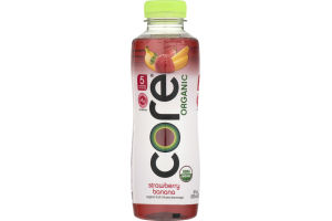 CORE Organic Fruit Infused Beverage Strawberry Banana