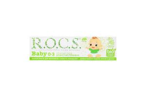 Зубная паста детская Душистая ромашка Baby R.O.C.S. 35мл