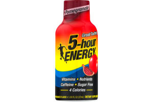 5-Hour Energy Dietary Supplement Pomegranate