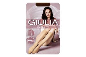 Гольфи жіночі Giulia Marea 20den 23-25 caramel 2пари