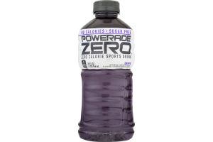 Powerade Zero Zero Calorie Sports Drink Grape