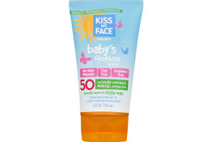 Kiss My Face Sunscreen Baby's First Kiss Lotion 50