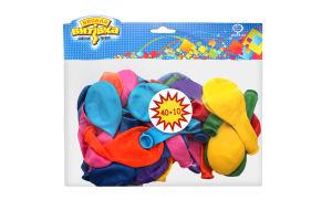 Кульки надувні №1111-0005 Асорті Весела Витівка 50шт