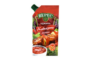 Аджика острая Кавказская Верес д/п 130г