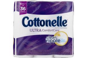 Cottonelle Toilet Paper Ultra Comfort Care - 18 PK