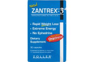 Zantrex-3 Dietary Supplement - 30 CT