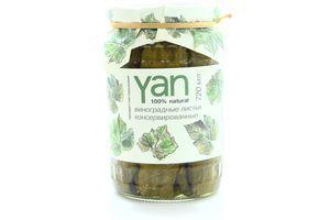 Листя Yan виноградне консервоване 720мл