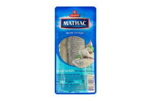 Сельдь филе деликатесное оригинальное Матиас Санта Бремор п/у 150г