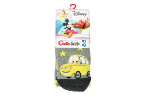 Колготки дет Conte-kids Disney 469 сер/жел р.92-98