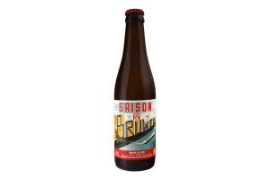 Пиво 0.33л 5.3% світле нефільтроване непастеризоване Saison Van de Bruwer Brasserie de la Senne пл
