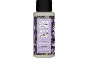 Love Beauty and Planet Smooth and Serene Shampoo Argan Oil & Lavender