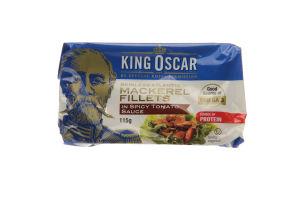 Скумбрия King Oscar атлант филе в томатном соусе