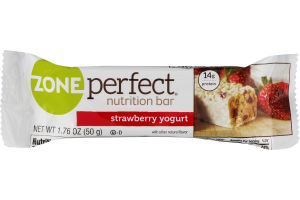 ZonePerfect Nutrition Bar Strawberry Yogurt