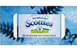 Scotties 2-Ply Facial Tissues - 200 CT