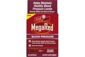 Schiff MegaRed Blood Pressure Dietary Supplement - 60 CT