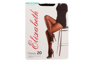Колготи Elizabeth classic черн 20 s5