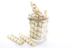 Трубочки вафельні крем/сгущ молоко,кг Рошен(1)