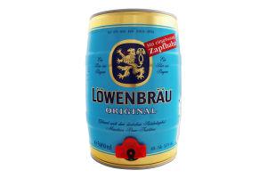 Пиво 5л 5.2% светлое пастеризованное Original Löwenbräu ж/б