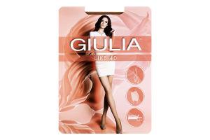 Колготки жіночі Giulia Like 40den 2-S daino