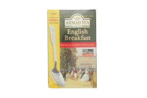 Чай черный листовой English Breakfast Ahmad Tea к/у 100г