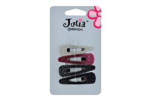 Н-р заколок Julia Collection 4шт D-02