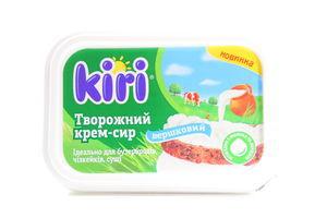 Крем-сыр 63% творожный сливочный Кири 200г