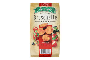 Брускетты Maretti томат-оливки-орегано
