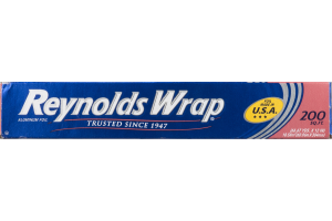 Reynolds Wrap Aluminum Foil - 200 SQ FT