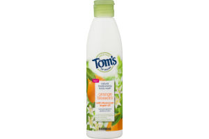 Tom's Of Maine Natural Mositurizing Body Wash Orange Blossom With Moroccan Argan Oil