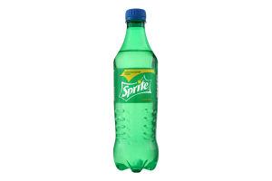 Напій безалкогольний сильногазований зі смаком лимона і лайма Sprite п/пл 0.5л