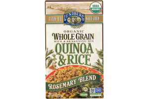 Lundberg Organic Whole Grain Quinoa & Rice Rosemary Blend
