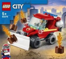 Конструктор для детей от 5лет №60279 Пожарный пикап City Lego 1шт
