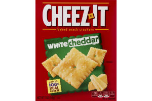 Cheez-It Baked Snack Crackers White Cheddar