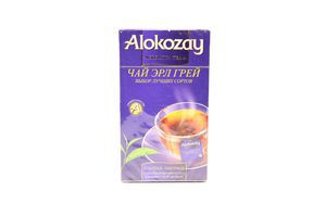 Чай Алокозай Ерл Грей чорн бергам. ф/п 25*2г 50г