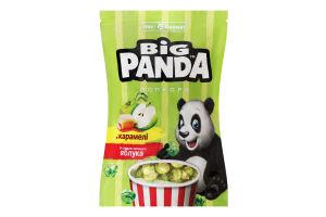 Попкорн в карамелі зі смаком зеленого яблука Big Panda д/п 90г