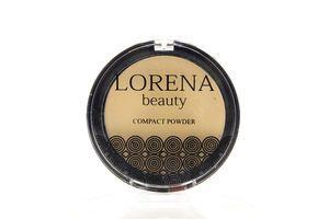 Пудра компактная №P02 LORENA beauty 11,5г