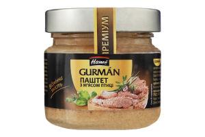Паштет с мясом птицы Gurman Hame с/б 170г