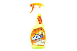 Средство для мытья стекол и поверхностей Лайм Профессионал Mr.Muscle 500мл