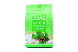 Соль для ванн с эфирным маслом сосны Желана 500г
