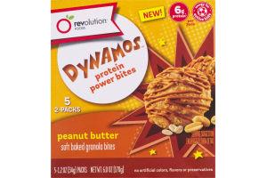 Revolution Foods Dynamos Protein Power Bites Peanut Butter - 5 PK