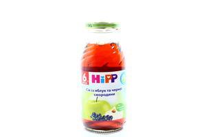 Сік Hipp із чорної смородини та яблук 0,2л