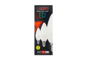 Лампа світлодіодна ULTRA LED С37 7W E14 3000K